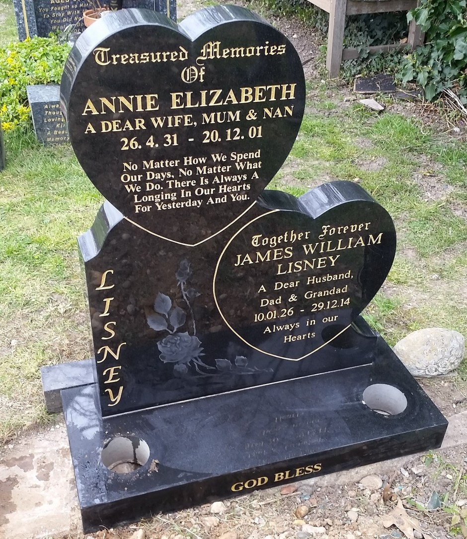 Headstones in Enfield | Leverton Brothers